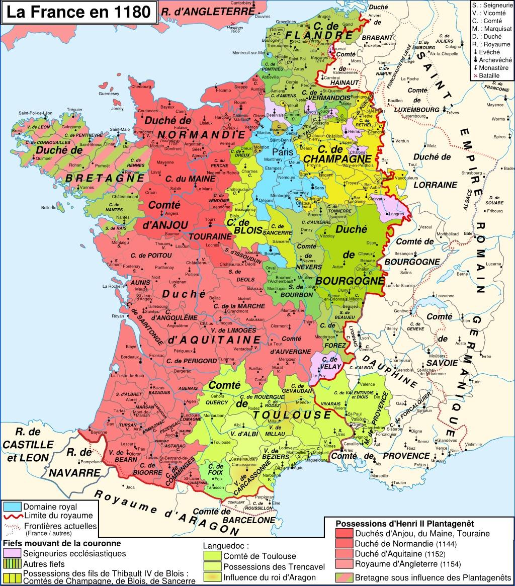 carte de france sous r