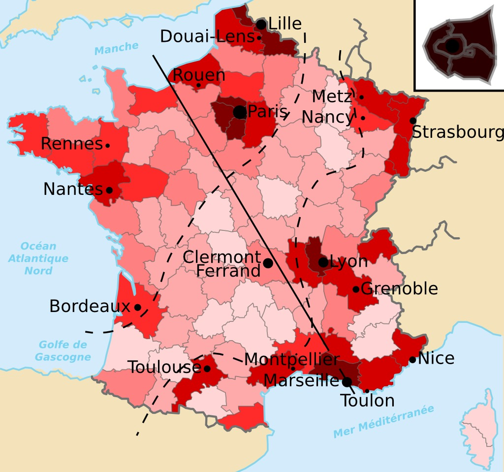 Bases De Lotan En France Source Httpdata Câble Sous