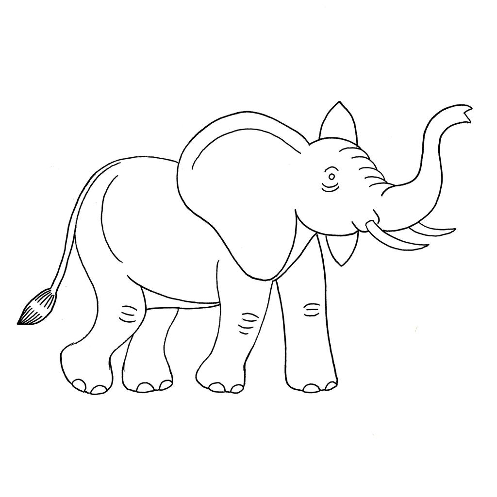 Ressources ducatives libres les - Elephant en dessin ...