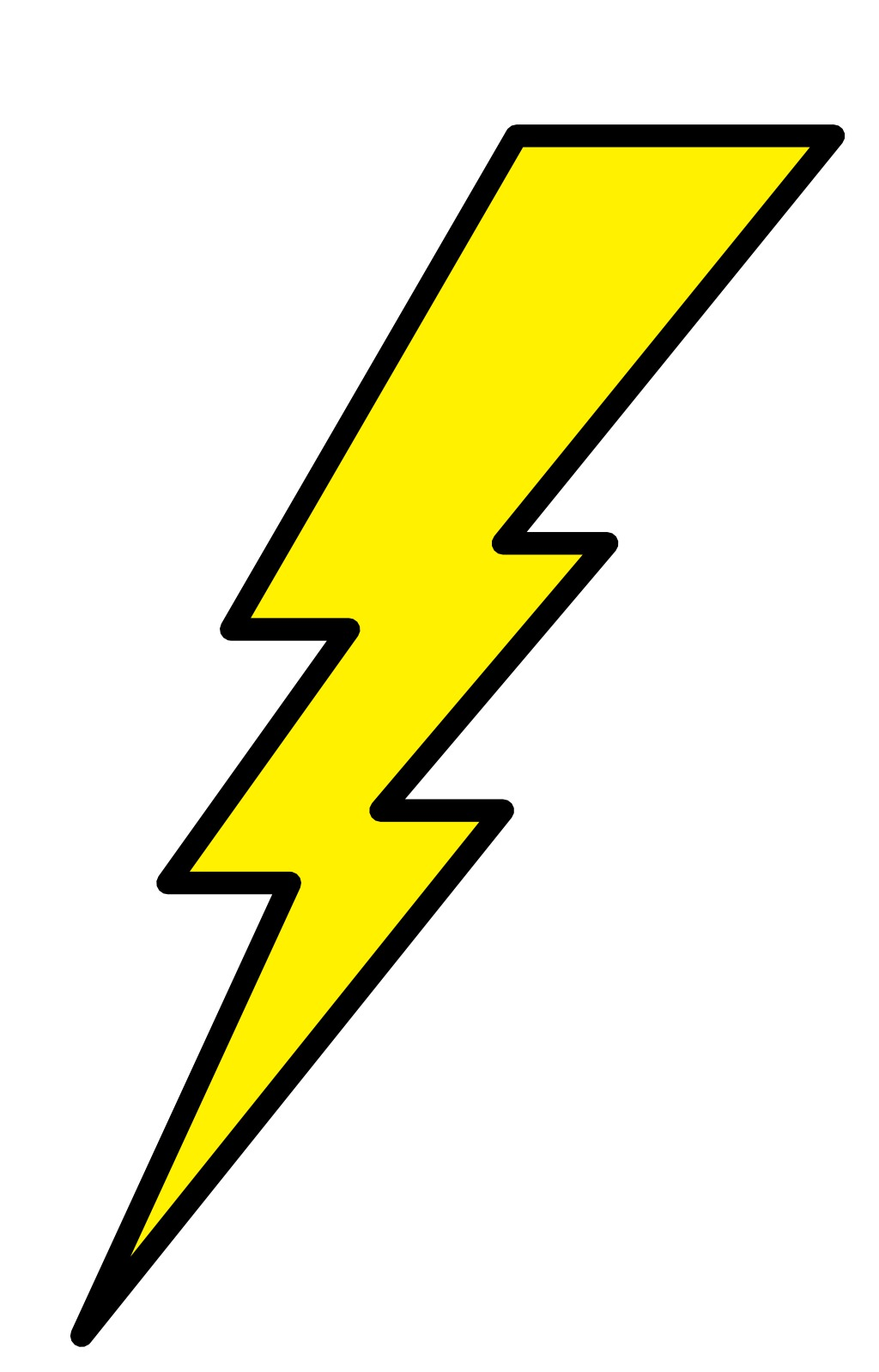 ressources  u00c9ducatives libres data abuledu org les lightning bolt clipart black lightning bolt clip art free