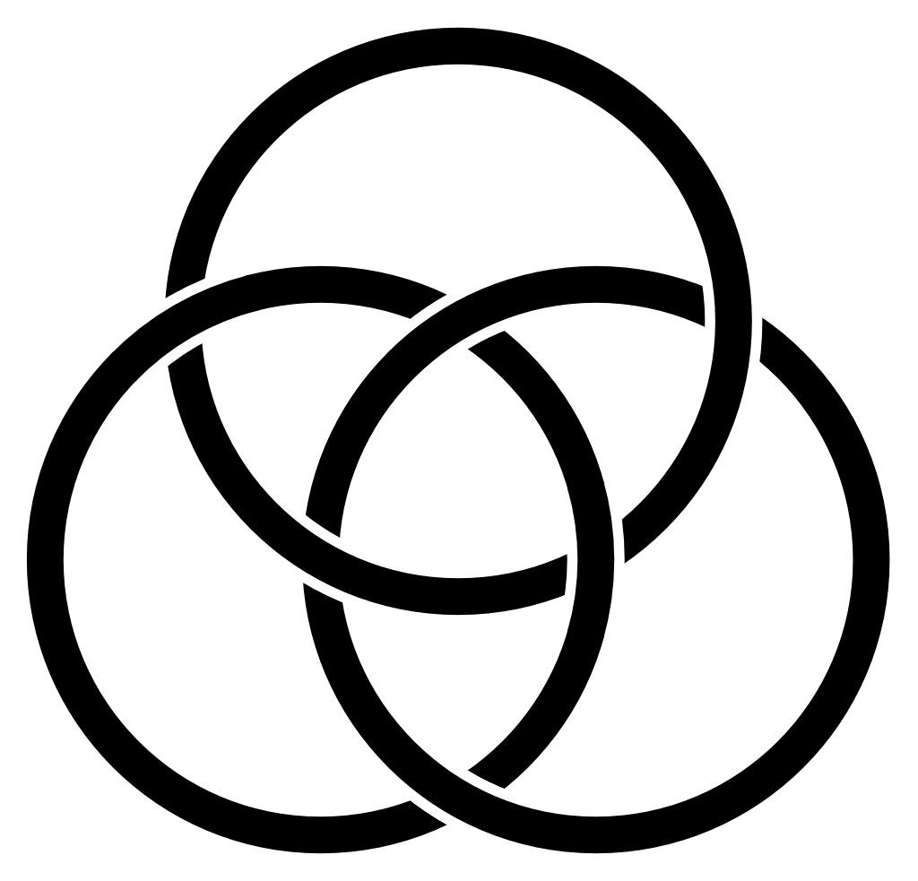 Comment comprendre l'équivalence entre la pensée et l'être chez Parménide - Page 5 Noeud-borromeen-en-noir-et-blanc-5357d268