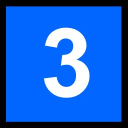 3 blanc sur fond bleu. Source : http://data.abuledu.org/URI/50c4e801-3-blanc-sur-fond-bleu