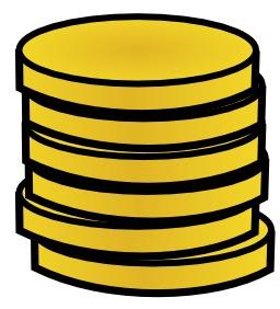 6 pièces d'or en pile. Source : http://data.abuledu.org/URI/504bc16a-6-pieces-d-or-en-pile