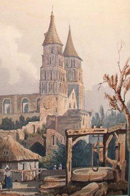 Abbaye de Jumièges en Normandie. Source : http://data.abuledu.org/URI/5017752d-abbaye-de-jumieges-en-normandie