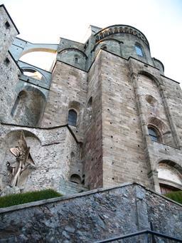 Abbaye Saint-Michel de la Cluse. Source : http://data.abuledu.org/URI/57014c1c-abbaye-saint-michel-de-la-cluse