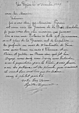 Abri de Cap Blanc en Dordogne en 1909. Source : http://data.abuledu.org/URI/538399b5-abri-de-cap-blanc-en-dordogne-en-1909