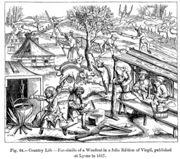 Activités à la campagne en 1518. Source : http://data.abuledu.org/URI/53875560-activites-a-la-campagne-en-1518