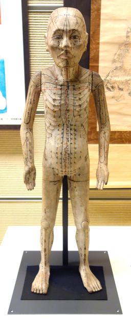 Acupuncture et poupée japonaise. Source : http://data.abuledu.org/URI/5937015f-acupuncture-et-poupee-japonaise