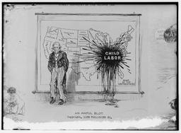 Affiche américaine contre le travail des enfants. Source : http://data.abuledu.org/URI/58cadd7e-affiche-americaine-contre-le-travail-des-enfants