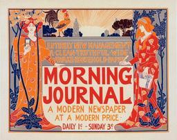 Affiche américaine pour un journal. Source : http://data.abuledu.org/URI/50e42889-affiche-americaine-pour-un-journal