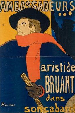 Affiche d'Aristide Bruant. Source : http://data.abuledu.org/URI/501ef398-affiche-d-aristide-bruant