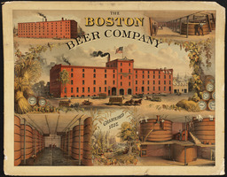 Affiche d'usine de bière à Boston. Source : http://data.abuledu.org/URI/501f0fcb-affiche-d-usine-de-biere-a-boston