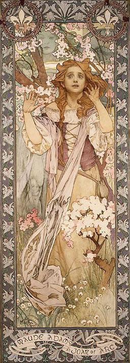 Affiche de Mucha. Source : http://data.abuledu.org/URI/50e45411-affiche-de-mucha