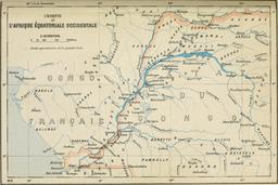 Affluents du Congo en 1896. Source : http://data.abuledu.org/URI/56c39296-affluents-du-congo-en-1896