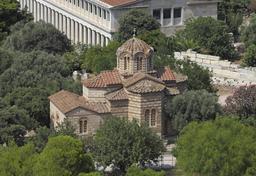Agia Apostoli depuis l'Acropole à Athènes. Source : http://data.abuledu.org/URI/5415e22a-agia-apostoli-depuis-l-acropole-a-athenes