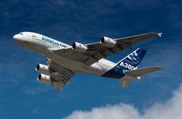 Airbus A380 en vol. Source : http://data.abuledu.org/URI/565738e5-airbus-a380-en-vol