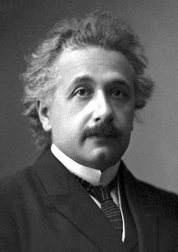 Albert Einstein, prix Nobel en 1921. Source : http://data.abuledu.org/URI/50b23360-albert-einstein-prix-nobel-en-1921