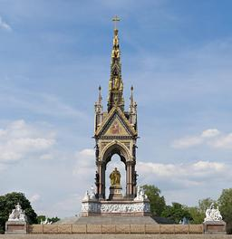 Albert Memorial à Londres. Source : http://data.abuledu.org/URI/54d9b50f-albert-memorial-a-londres