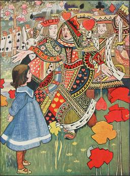Alice et la Reine. Source : http://data.abuledu.org/URI/50ce5610-alice-et-la-reine
