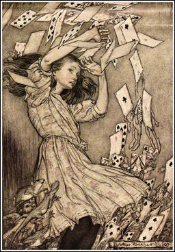 Alice et le paquet de cartes. Source : http://data.abuledu.org/URI/532da2d0-alice-et-le-paquet-de-cartes