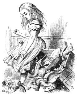 Alice renverse le banc des jurés. Source : http://data.abuledu.org/URI/50cf1089-alice-renverse-le-banc-des-jures