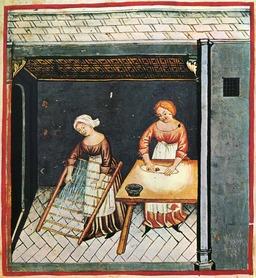 Alimentation au Moyen Age : la pâte. Source : http://data.abuledu.org/URI/50cb0796-alimentation-au-moyen-age-la-pate