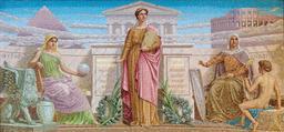 Allégorie de l'histoire. Source : http://data.abuledu.org/URI/53b3f747-allegorie-de-l-histoire
