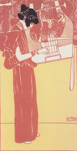 Allégorie de la musique en 1901. Source : http://data.abuledu.org/URI/59477fa8-allegorie-de-la-musique-en-1901