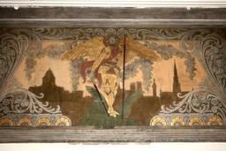 Allégorie de la ville de Bruxelles. Source : http://data.abuledu.org/URI/52a08fcb-allegorie-de-la-ville-de-bruxelles