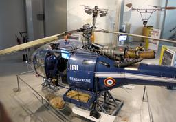 Alouette III au musée du Bourget. Source : http://data.abuledu.org/URI/59bc533b-alouette-iii-au-musee-du-bourget