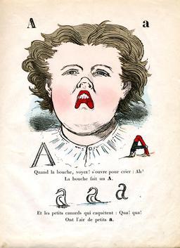 Alphabet enchanté, la lettre A. Source : http://data.abuledu.org/URI/5313ab22-alphabet-enchante-la-lettre-a
