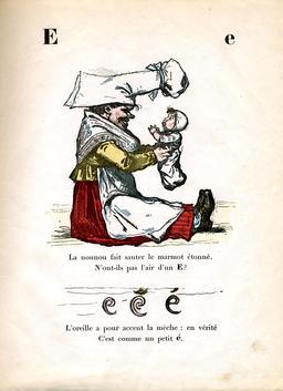 Alphabet enchanté, la lettre E. Source : http://data.abuledu.org/URI/5313b0d0-alphabet-enchante-la-lettre-e