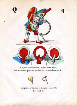 Alphabet enchanté, la lettre Q. Source : http://data.abuledu.org/URI/5314471c-alphabet-enchante-la-lettre-q