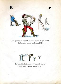 Alphabet enchanté, la lettre R. Source : http://data.abuledu.org/URI/5314485b-alphabet-enchante-la-lettre-r