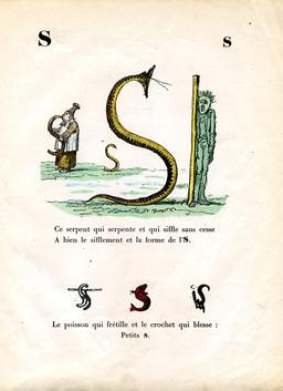 Alphabet enchanté, la lettre S. Source : http://data.abuledu.org/URI/53144c2b-alphabet-enchante-la-lettre-s