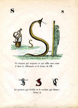 Alphabet enchanté, la lettre S. Source : http://data.abuledu.org/URI/53144c2b-alphabet-enchante-la-lettre-s