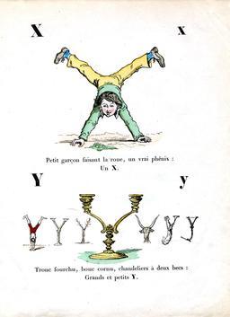 Alphabet enchanté, les lettres X et Y. Source : http://data.abuledu.org/URI/531455ae-alphabet-enchante-les-lettres-x-et-y