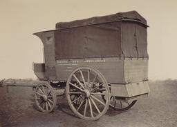 Ambulance de 1877. Source : http://data.abuledu.org/URI/530ce4d7-ambulance-de-1877