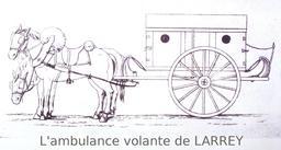 Ambulance du dix-neuvième siècle. Source : http://data.abuledu.org/URI/530cddb1-ambulance-du-dix-neuvieme-siecle