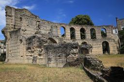 Amphithéâtre de Burdigala. Source : http://data.abuledu.org/URI/55af62af-amphitheatre-de-burdigala