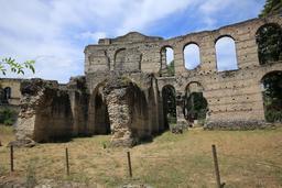Amphithéâtre de Burdigala. Source : http://data.abuledu.org/URI/55af6d05-amphitheatre-de-burdigala
