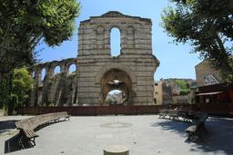 Amphithéâtre de Burdigala, Bordeaux-33.. Source : http://data.abuledu.org/URI/55af5efa-amphitheatre-de-burdigala-bordeaux-33-