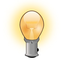 Ampoule allumée. Source : http://data.abuledu.org/URI/540780d8-ampoule-allumee