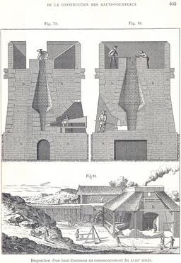 Ancien haut fourneau. Source : http://data.abuledu.org/URI/56c24735-ancien-haut-fourneau