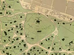 Ancien plan de la ville d'hiver d'Arcachon. Source : http://data.abuledu.org/URI/543295db-ancien-plan-de-la-ville-d-hiver-d-arcachon