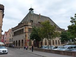 Ancienne douane de Colmar. Source : http://data.abuledu.org/URI/54a7c862-ancienne-douane-de-colmar