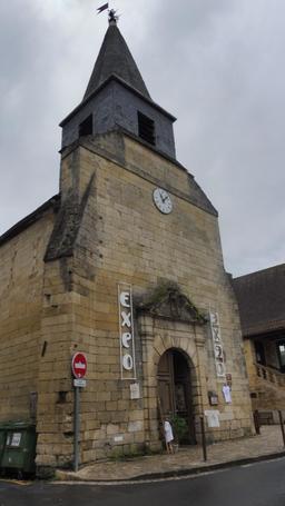 Ancienne église de Montignac-24. Source : http://data.abuledu.org/URI/5994dbdd-ancienne-eglise-de-montignac-24