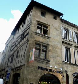 Ancienne maison à Bordeaux. Source : http://data.abuledu.org/URI/59075771-ancienne-maison-a-bordeaux