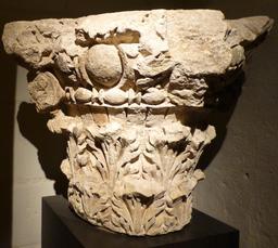 Angers, chapiteau de Juliomagus. Source : http://data.abuledu.org/URI/562fe3c9-angers-chapiteau-de-juliomagus