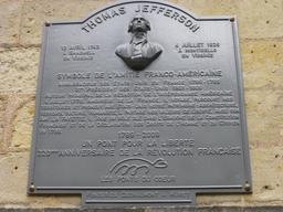 Angers, Plaque commémorative. Source : http://data.abuledu.org/URI/5630044b-angers-plaque-commemorative